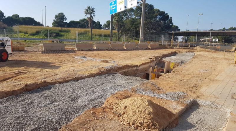LUZ VERDE A LAS OBRAS DE CONSTRUCCION DEL PASO DE PEATONES SUBTERRANEO QUE ENLAZARA MANISES CON EL AEROPUERTO